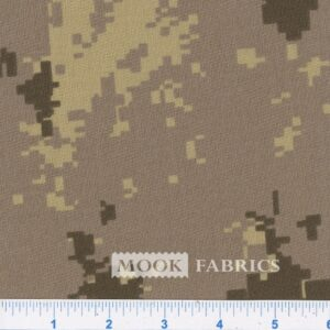 082815 CAMOUFLAGE - POLY-COTTON -