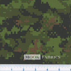 082815 CAMOUFLAGE - POLYESTER - GREEN