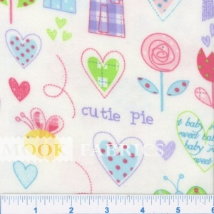 FQ CUDDLE FLANNEL, CUTIE PIE - 108-2771