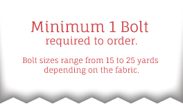 Minimum 1 Bolt required to order