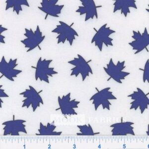 NORTHERN FLEECE, MINI LEAF - 02 BLUE